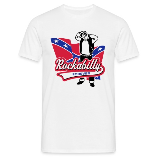 Rockabilly Forever - Männer T-Shirt