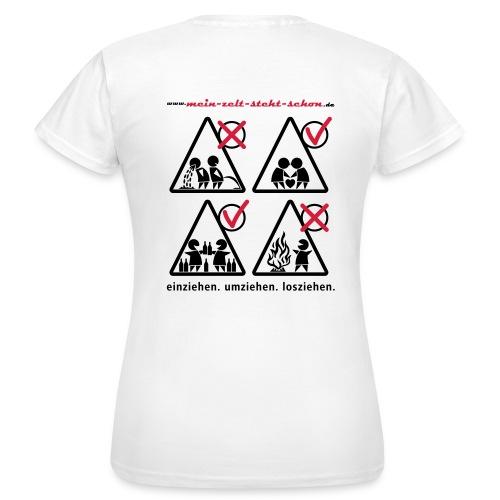 T-Shirt klassisch  - Frauen T-Shirt