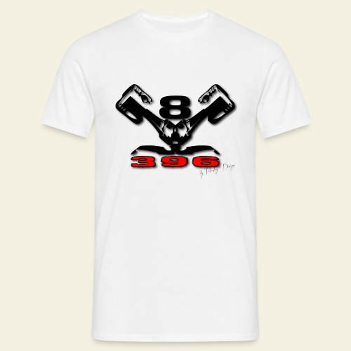 396 CUI V8 t-shirt - loose - Herre-T-shirt