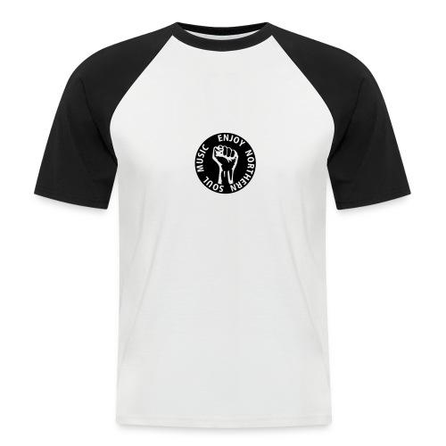 enjoy northern soul music - Männer Baseball-T-Shirt