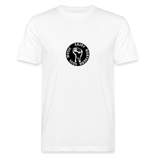 enjoy northern soul music - Männer Bio-T-Shirt