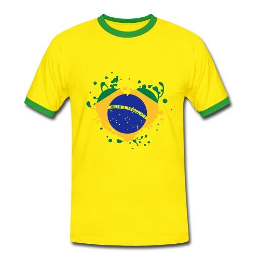 Brazil !!! - T-shirt contrasté Homme