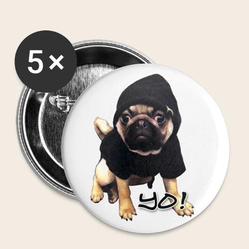 Yo! Mops - Buttons mittel 32 mm