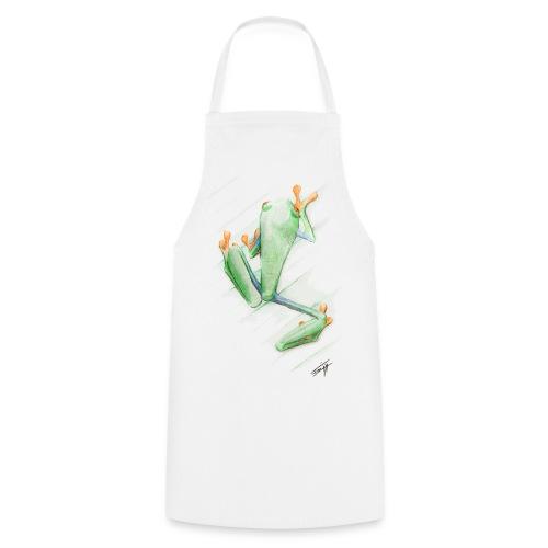 Attention grenouille toxique ! - Tablier de cuisine