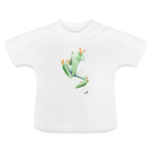 Attention grenouille toxique ! - T-shirt Bébé