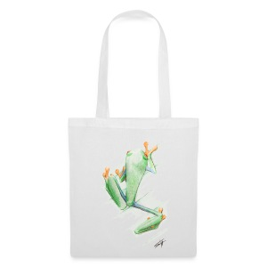 Attention grenouille toxique ! - Tote Bag