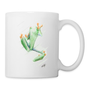 Attention grenouille toxique ! - Tasse
