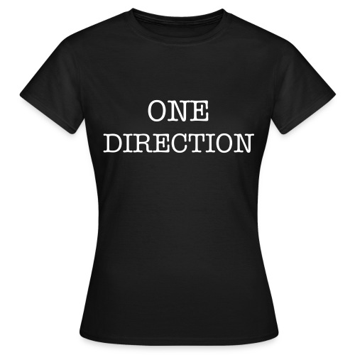 One Direction Ladies T-Shirt - Women's T-Shirt