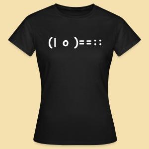 Girlshirt: (| o )==:: Motiv: weiss - Frauen T-Shirt