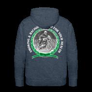 Hoodies & Sweatshirts ~ Men's Premium Hoodie ~ Smoking and Racing
