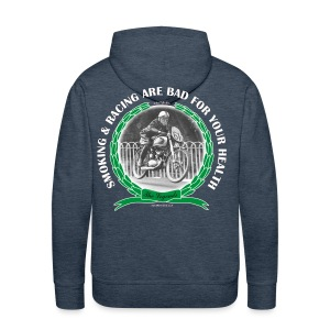 Smoking and Racing - Men's Premium Hoodie