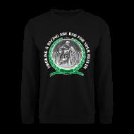 Hoodies & Sweatshirts ~ Men's Sweatshirt ~ Smoking and Racing