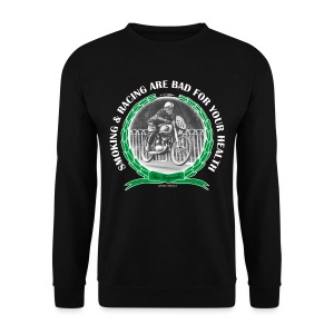 Smoking and Racing - Men's Sweatshirt