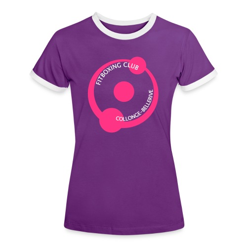 T-shirt Fitboxing - T-shirt contrasté Femme