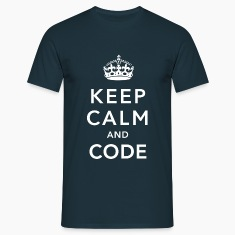 CALM DOWN AND CODE T-shirt