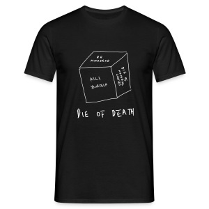 Die Of Death - Men's T-Shirt