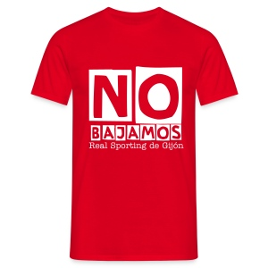 No Bajamos - Sporting de Gijón - Men's T-Shirt