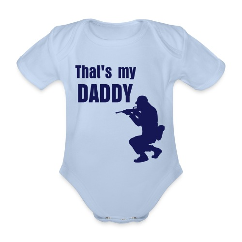 That's my Daddy - Organic Short-sleeved Baby Bodysuit