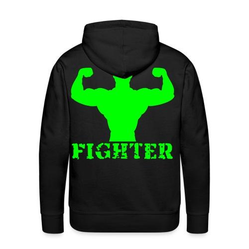 fighter crew - Premium hettegenser for menn
