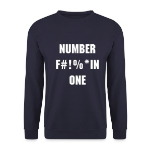 Number one - Mannen sweater