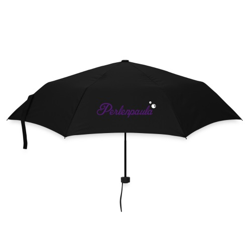 Kleiner Regenschirm Perlenpaula in Lila-Purple/Weiß - Regenschirm (klein)