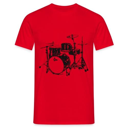 Maglietta Uomo Batteria - Maglietta da uomo