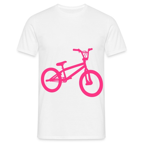 Ride My Style Pink Bike Men's T-Shirt - Men's T-Shirt