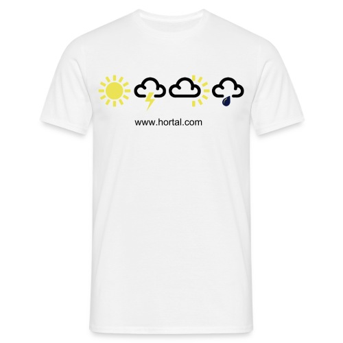 Whatever the weather + your own text - Men's T-Shirt
