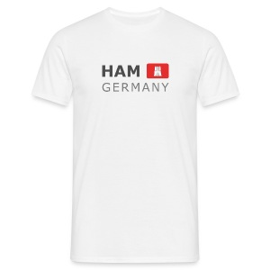 Classic T-Shirt HAM GERMANY HHF dark-lettered - Men's T-Shirt