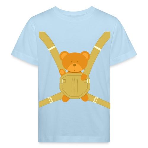 Knuddelbär im Tragegurt - Kinder Bio-T-Shirt