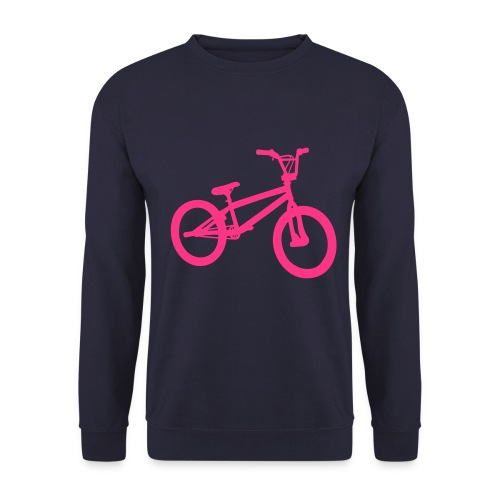 Ride My Style Pink Bike Men's Sweater - Men's Sweatshirt
