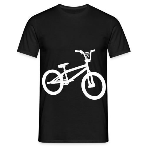 Ride My Style White Bike Men's T-Shirt - Men's T-Shirt