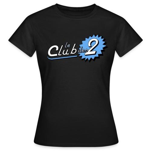 Le Club des 2 - T-shirt Femme