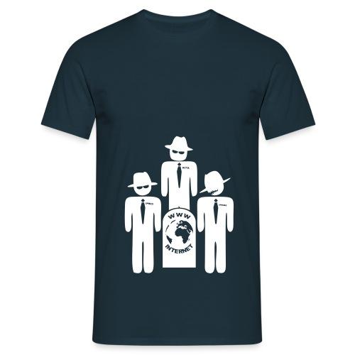 ACTA IPRED 2 WWW DEATH - Männer T-Shirt
