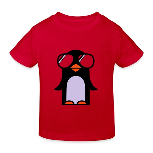 Kindershirt Crazy Pingu - Kinder Bio-T-Shirt