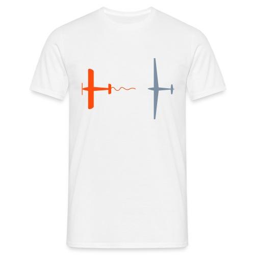 Schlepptau - Männer T-Shirt