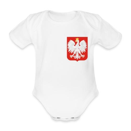 Body Euro - 1 - Ekologiczne body niemowlęce z krótkim rękawem