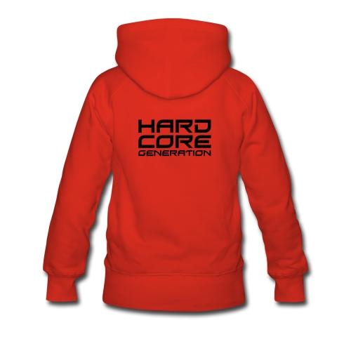 Electro-hard-gen - Sweat-shirt à capuche Premium pour femmes