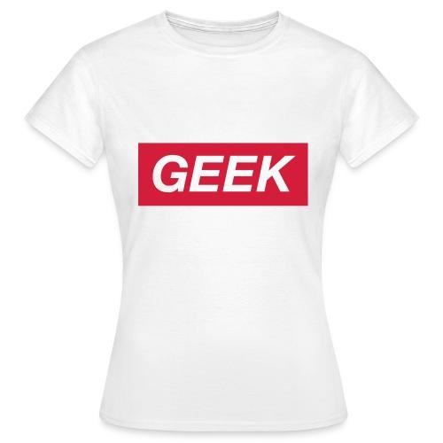 Obey like a Geek. Femme - T-shirt Femme