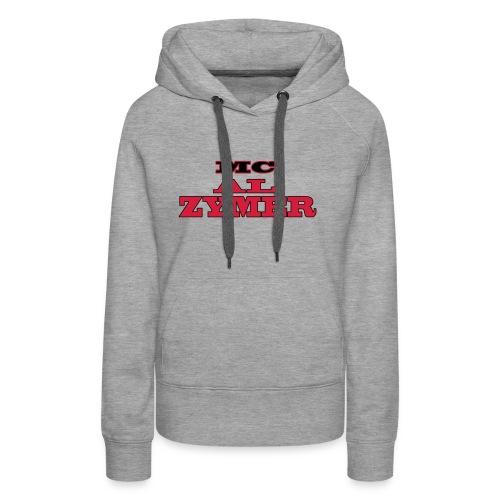 Pull femme - MC Al Zymer - Sweat-shirt à capuche Premium pour femmes