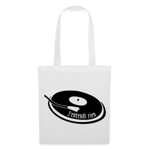 Sac - J'entends rien (platine) - Tote Bag