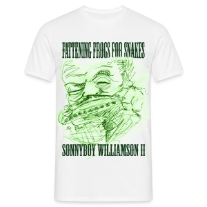 Fattening Frogs for Snakes - Men's T-Shirt