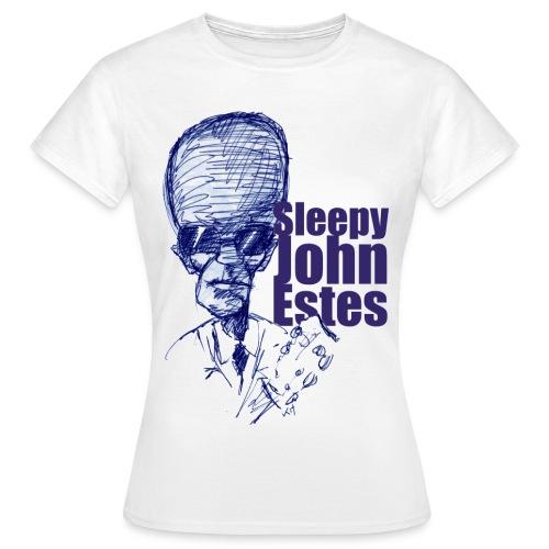 Sleepy John Estes - Women's T-Shirt