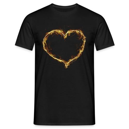 Heart  -  Herz T-Shirts - Männer T-Shirt
