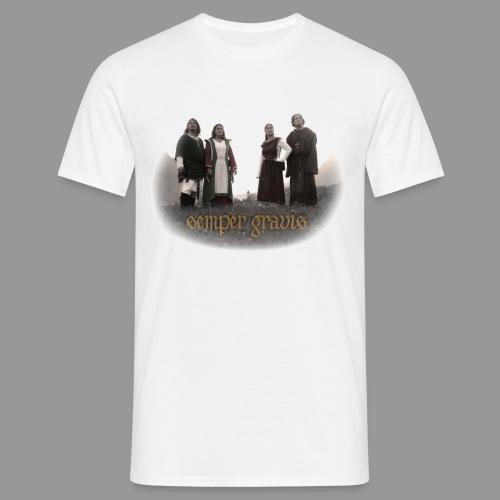 semper gravis - Männer T-Shirt