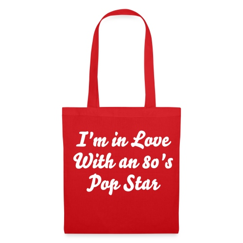 80's Pop Star Tote Bag - Tote Bag