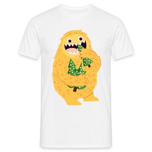 Weihnachtsmonster - Männer T-Shirt