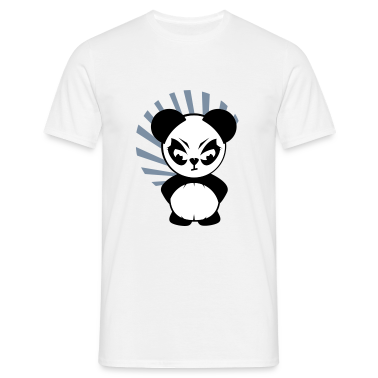 The Little Panda has an angry face T-Shirts