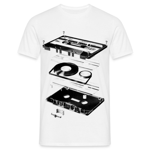 Tape 80 - front and back  - Männer T-Shirt