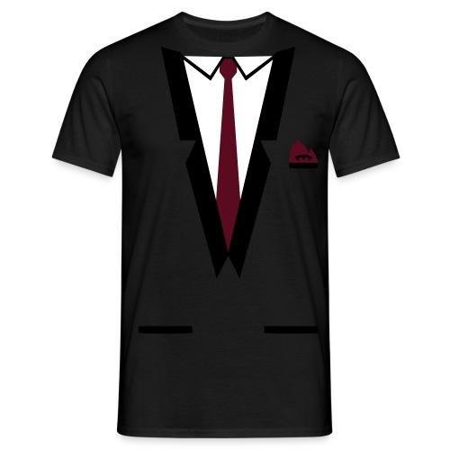 suit-shirt  - T-shirt Homme